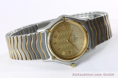 EBEL CLASSIC WAVE STEEL / GOLD QUARTZ KAL. 88 [152069]
