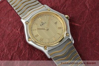 EBEL CLASSIC WAVE ACIER / OR QUARTZ KAL. 88 [152069]