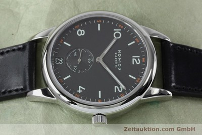 NOMOS CLUB STEEL AUTOMATIC KAL. ZETA 3407 LP: 2440EUR [152087]