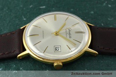 GLASHÜTTE SPEZIMATIC GOLD-PLATED AUTOMATIC KAL. 75 VINTAGE [152096]