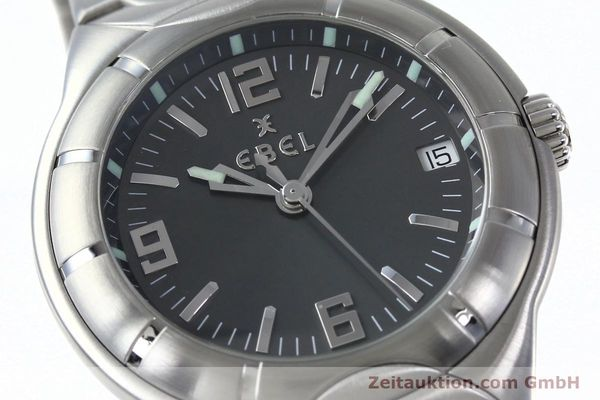 Used luxury watch Ebel Type E steel quartz Kal. 187-1 Ref. 9187C41  | 152109 02