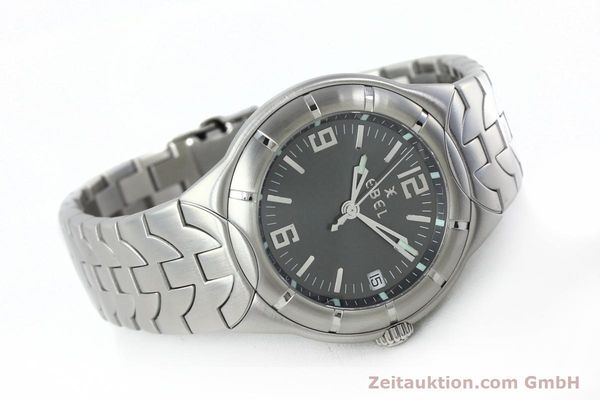Used luxury watch Ebel Type E steel quartz Kal. 187-1 Ref. 9187C41  | 152109 03