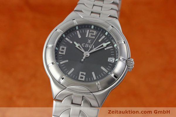 Used luxury watch Ebel Type E steel quartz Kal. 187-1 Ref. 9187C41  | 152109 04