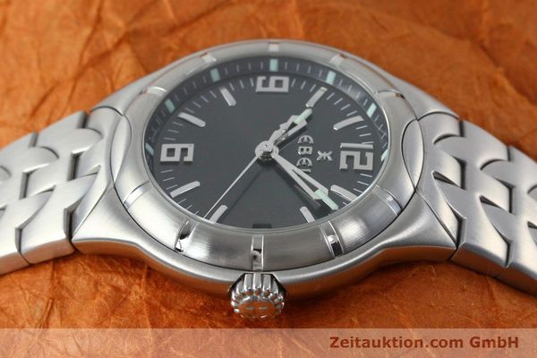Used luxury watch Ebel Type E steel quartz Kal. 187-1 Ref. 9187C41  | 152109 05