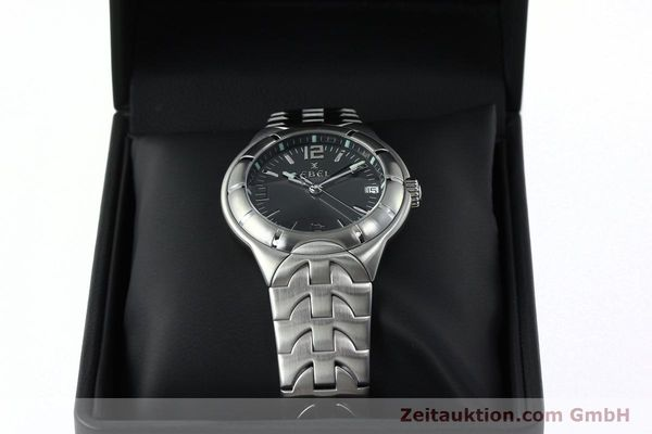 Used luxury watch Ebel Type E steel quartz Kal. 187-1 Ref. 9187C41  | 152109 07