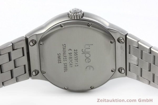 Used luxury watch Ebel Type E steel quartz Kal. 187-1 Ref. 9187C41  | 152109 09