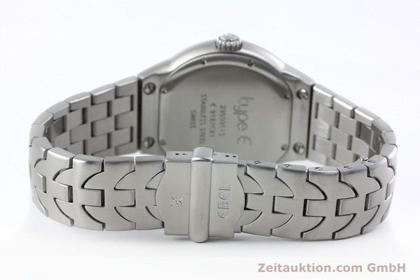 Used luxury watch Ebel Type E steel quartz Kal. 187-1 Ref. 9187C41  | 152109 10
