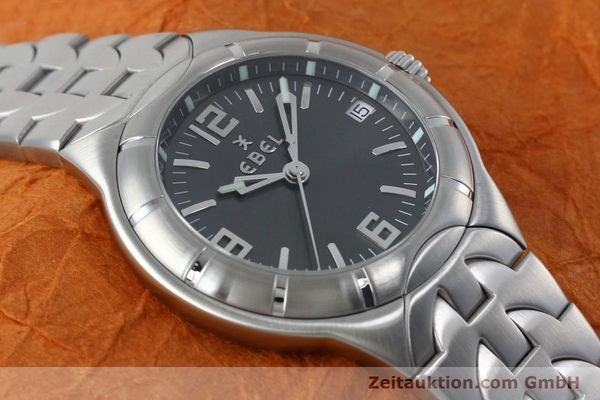 Used luxury watch Ebel Type E steel quartz Kal. 187-1 Ref. 9187C41  | 152109 13