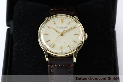 IWC PORTOFINO 14 CT YELLOW GOLD AUTOMATIC KAL. 853 [152112]