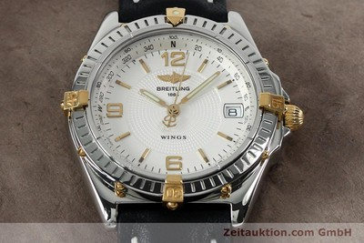 BREITLING WINGS COCKPIT AUTOMATIK HERRENUHR B10050 STAHL / GOLD VP: 3930,- EURO [152125]