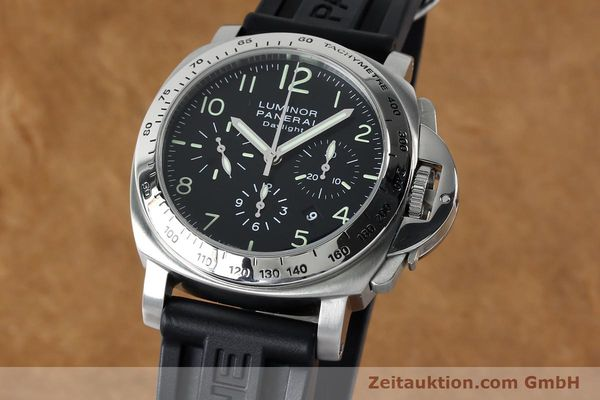 PANERAI LUMINOR CHRONO DAYLIGHT CHRONOGRAPH STEEL AUTOMATIC KAL. ETA 7753 LP: 7400EUR [152136]