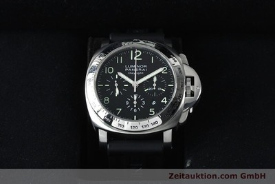 PANERAI LUMINOR CHRONO DAYLIGHT CHRONOGRAPHE ACIER AUTOMATIQUE KAL. ETA 7753 LP: 7400EUR [152136]