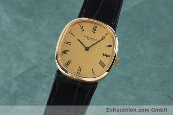 PATEK PHILIPPE 18K GOLD ELLIPSE D´OR HANDAUFZUG 3748 MEDIUM VP: 19930,- EURO [152140]