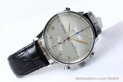 IWC PORTUGIESER CHRONOGRAPH STEEL MANUAL WINDING KAL. 76240 LP: 11100EUR [152144]