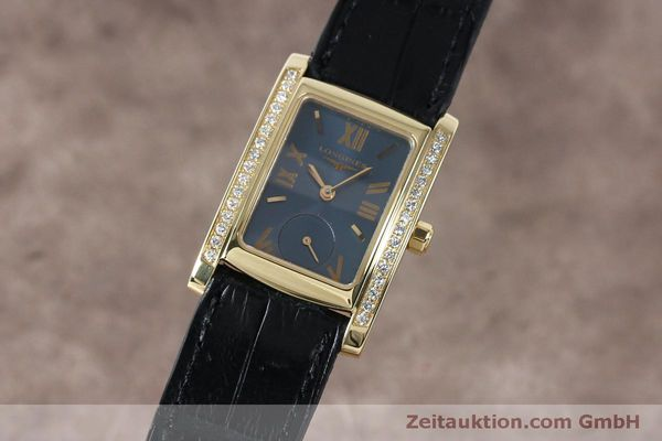 LONGINES LADY DOLCE VITA 18K GOLD DIAMANTEN DAMENUHR L5.502.7 [152151]
