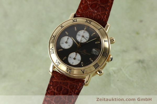 BAUME & MERCIER 18K GOLD BAUMATIC CHRONOGRAPH HERRENUHR 86104 VP: 15900,-EURO [152152]