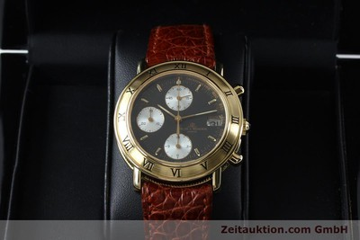 BAUME & MERCIER BAUMATIC CHRONOGRAPHE OR 18 CT AUTOMATIQUE KAL. BM13283 ETA 2892-2 LP: 15900EUR [152152]