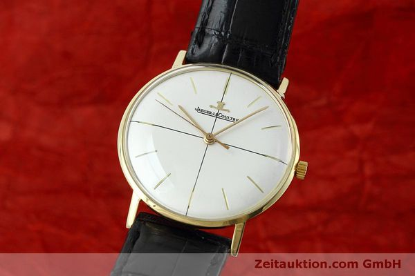 JAEGER LE COULTRE 18 CT GOLD MANUAL WINDING KAL. 800/C VINTAGE [152157]