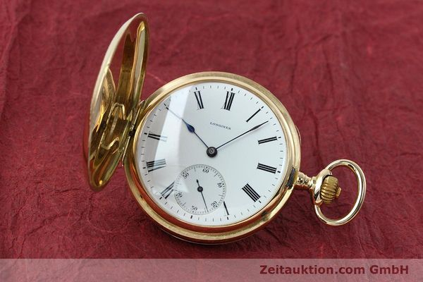 LONGINES TASCHENUHR 14 CT YELLOW GOLD MANUAL WINDING KAL. 1974N [152167]