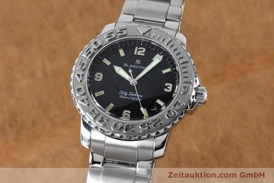BLANCPAIN FIFTY FATHOMS STEEL AUTOMATIC KAL. 11.51 LP: 16200EUR [152175]