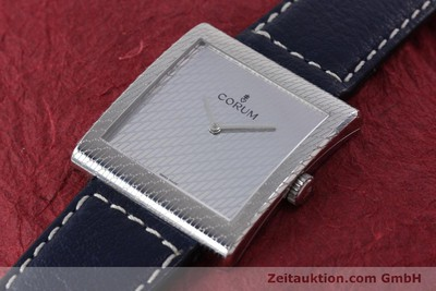 CORUM BUCKINGHAM STEEL MANUAL WINDING KAL. ETA 7001 [152185]