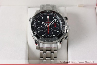 OMEGA SEAMASTER CHRONOGRAPH STEEL AUTOMATIC KAL. 3330 LP: 4800EUR [152195]