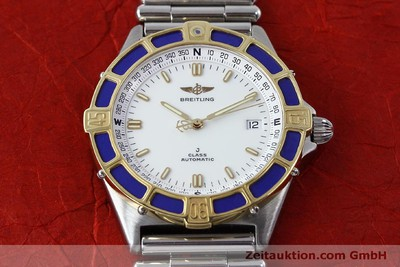 BREITLING J-CLASS ACIER / OR AUTOMATIQUE KAL. ETA 2892-2 LP: 5370EUR [152200]