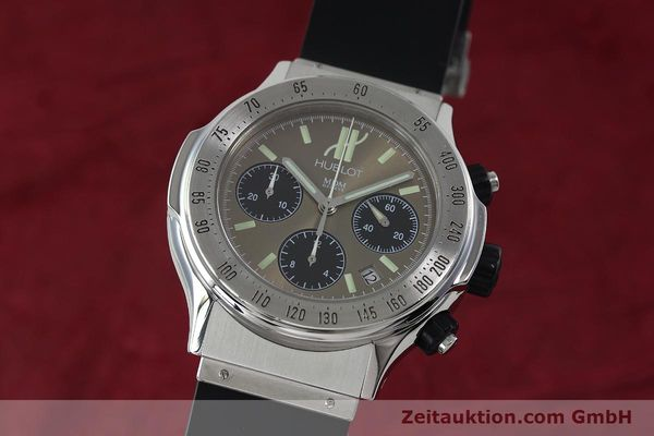HUBLOT SUPER B CHRONOGRAPH STEEL AUTOMATIC KAL. ETA 2892A2 [152202]