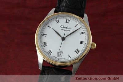 GLASHÜTTE SENATOR STEEL / GOLD MANUAL WINDING KAL. GUB 12-50 LP: 6200EUR [152203]