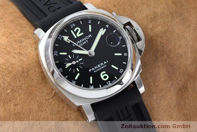 PANERAI LUMINOR GMT STEEL AUTOMATIC KAL. ETA A05571 LP: 6600EUR [152209]