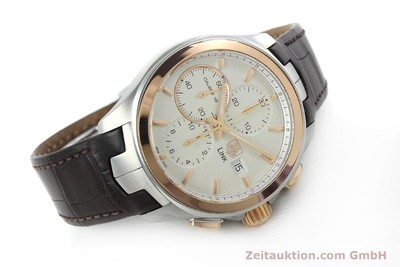TAG HEUER LINK CHRONOGRAPHE ACIER / OR AUTOMATIQUE KAL. 16 SELLITA SW500 LP: 6050EUR [152230]