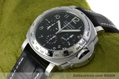 PANERAI LUMINOR CHRONO DAYLIGHT CHRONOGRAPH STEEL AUTOMATIC KAL. ETA 7753 LP: 7400EUR [152249]