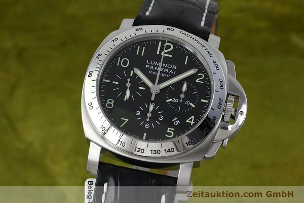 PANERAI LUMINOR CHRONO DAYLIGHT CHRONOGRAPHE ACIER AUTOMATIQUE KAL. ETA 7753 LP: 7400EUR  [152249]