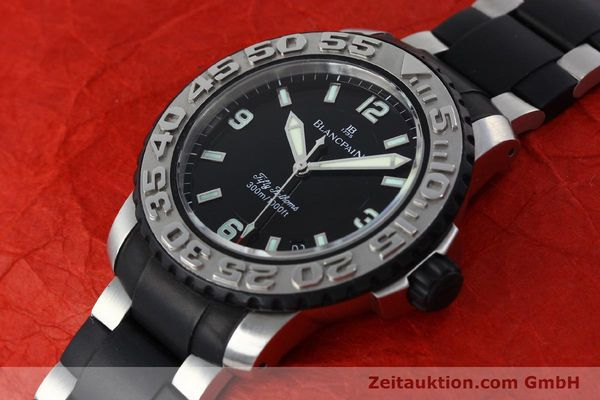 Used luxury watch Blancpain Fifty Fathoms steel automatic Kal. 1151  | 152261 01