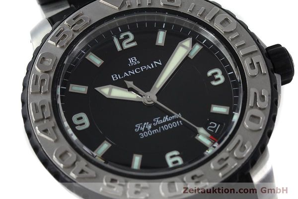 Used luxury watch Blancpain Fifty Fathoms steel automatic Kal. 1151  | 152261 02