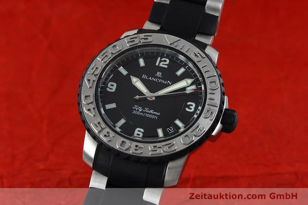 Used luxury watch Blancpain Fifty Fathoms steel automatic Kal. 1151  | 152261 04