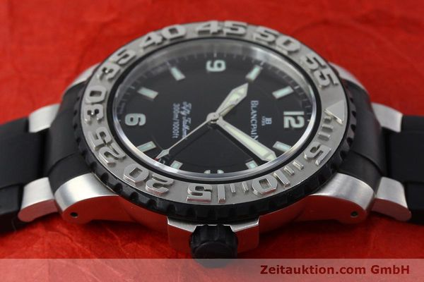 Used luxury watch Blancpain Fifty Fathoms steel automatic Kal. 1151  | 152261 05