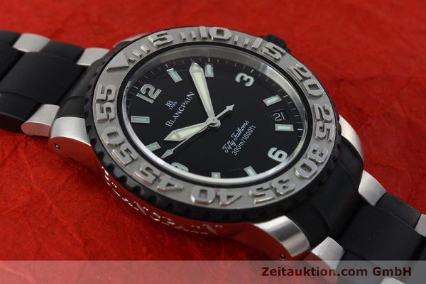 Used luxury watch Blancpain Fifty Fathoms steel automatic Kal. 1151  | 152261 14