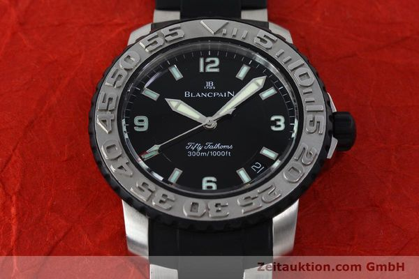 Used luxury watch Blancpain Fifty Fathoms steel automatic Kal. 1151  | 152261 15