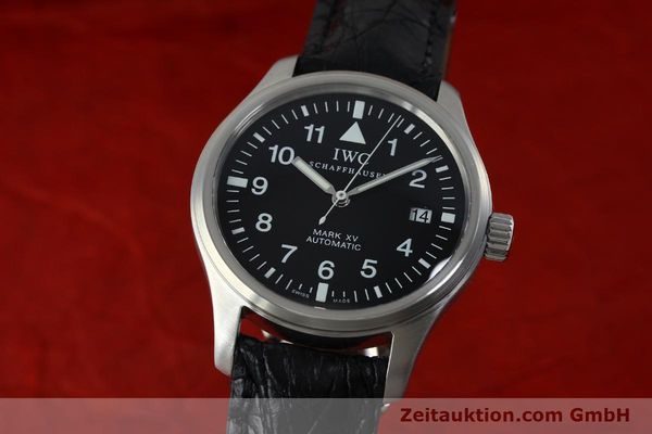 IWC MARK XV STEEL AUTOMATIC KAL. C.37524 LP: 4340EUR [152265]