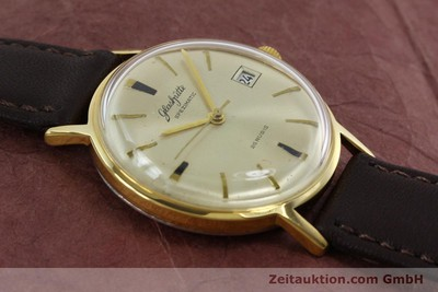GLASHÜTTE SPEZIMATIC GOLD-PLATED AUTOMATIC KAL. GUB 75 [152266]