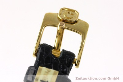 CHOPARD HAPPY DIAMONDS 18 CT GOLD QUARTZ KAL. ETA 201.001 LP: 12860EUR [152292]
