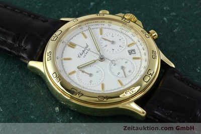 CHOPARD 18K (0,750) GOLD CHRONOGRAPH HERRENUHR 1179 DATUM VP: 15890,- EURO [152294]