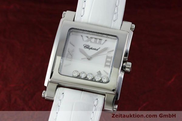 CHOPARD HAPPY SPORT STEEL QUARTZ KAL. ETA 955.412 LP: 6600EUR [152296]