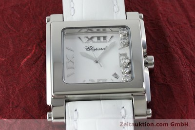 CHOPARD HAPPY SPORT ACIER QUARTZ KAL. ETA 955.412 LP: 6600EUR [152296]