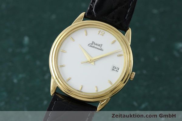 PIAGET 18K (0,750) GOLD AUTOMATIK HERRENUHR CAL P951 MEDIUM VP: 16400,- EURO [152298]