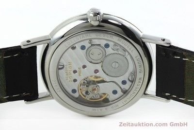 NOMOS LUDWIG STEEL MANUAL WINDING KAL. ALPHA 40913 LP: 1460EUR [152302]