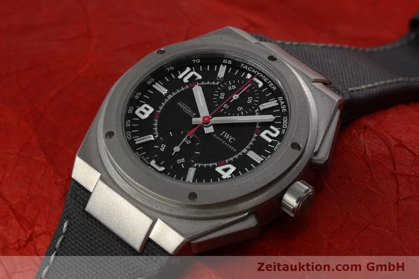 Used luxury watch IWC Ingenieur AMG chronograph titanium automatic Kal. 79350 Ref. 3725  | 152308 01