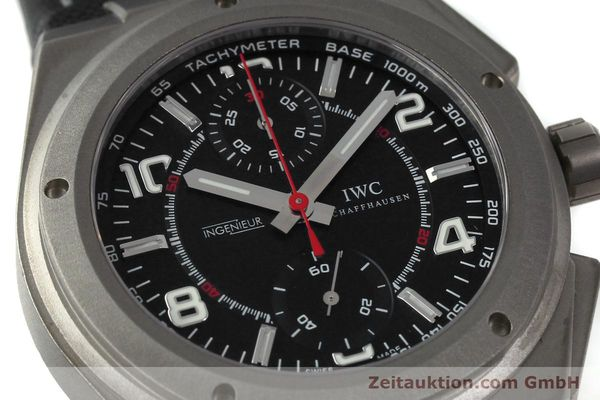 Used luxury watch IWC Ingenieur AMG chronograph titanium automatic Kal. 79350 Ref. 3725  | 152308 02