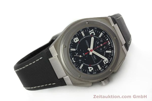 Used luxury watch IWC Ingenieur AMG chronograph titanium automatic Kal. 79350 Ref. 3725  | 152308 03